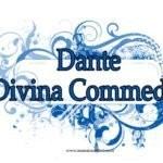 Copertina quaderno Divina Commedia