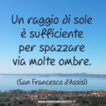 Frase di San Francesco d'Assisi