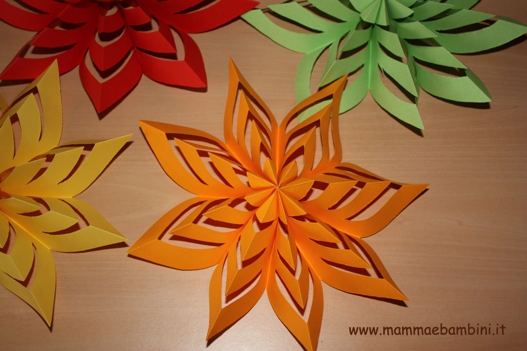 Come realizzare decorazioni facili di carta (16)