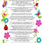 Poesia sull'amicizia con cornice da stampare