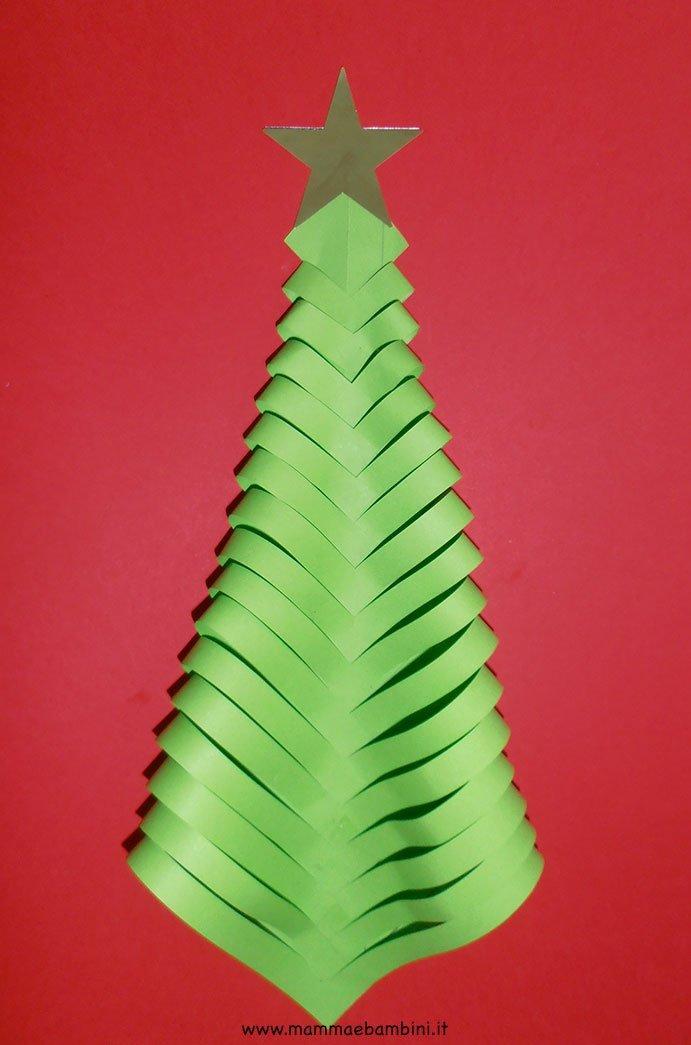 Preferenza Addobbi per Natale con albero di carta - Mamma e Bambini DB05