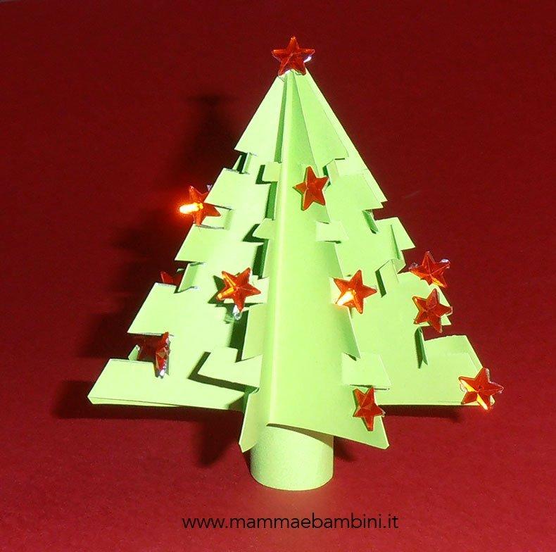 Favoloso Tutorial albero di Natale origami - Mamma e Bambini RR86