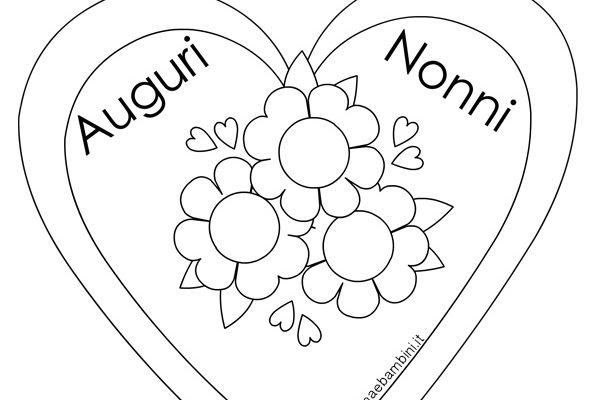 Ben noto Festa dei nonni - Mamma e Bambini UH23