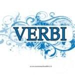 Copertina quaderno per i Verbi