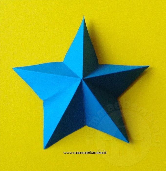 Realizzare stella di carta a 5 punte-10