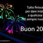Frasi auguri buon anno nuovo 2017 con cartoline