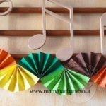 Festone fisarmonica di carta per feste