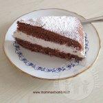 Ricetta torta al cacao e panna