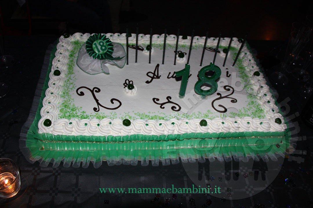Molto Torta compleanno 18 anni con panna - Mamma e Bambini TN48