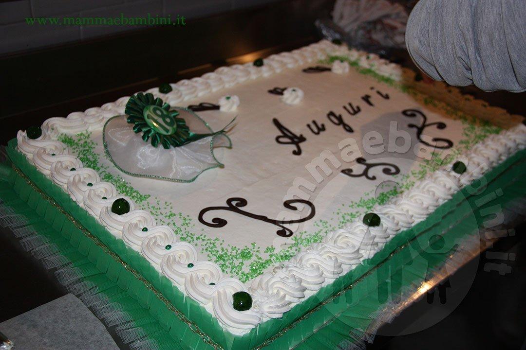Torta compleanno 18 anni con panna mamma e bambini for Decorazioni per torta 60 anni