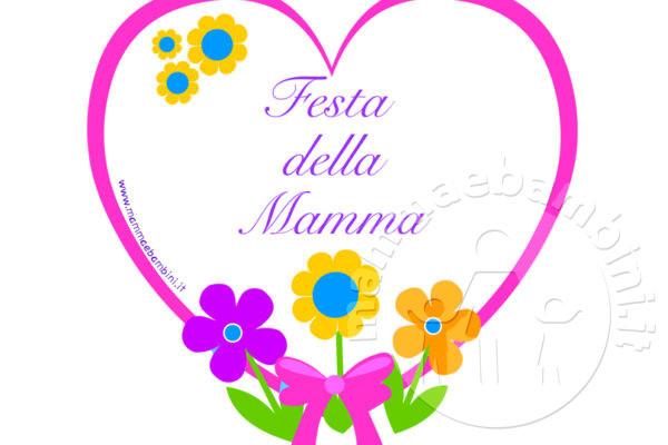 Ben noto Festa mamma - Mamma e Bambini WV27