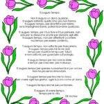 Poesia Ti auguro Tempo in cornice