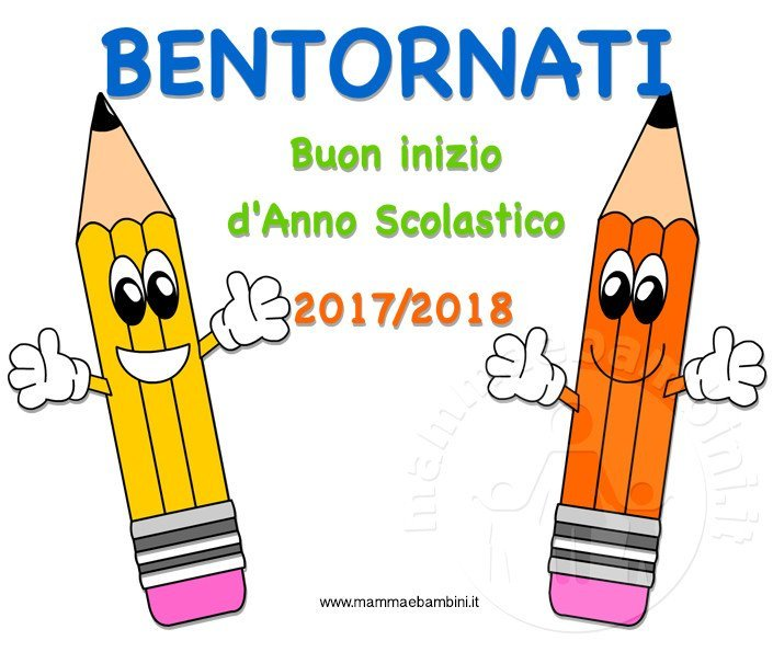 Conosciuto Accoglienza scuola scritta Bentornati - Mamma e Bambini MN23