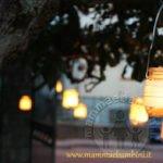 Decorazioni luminose con barattoli di vetro