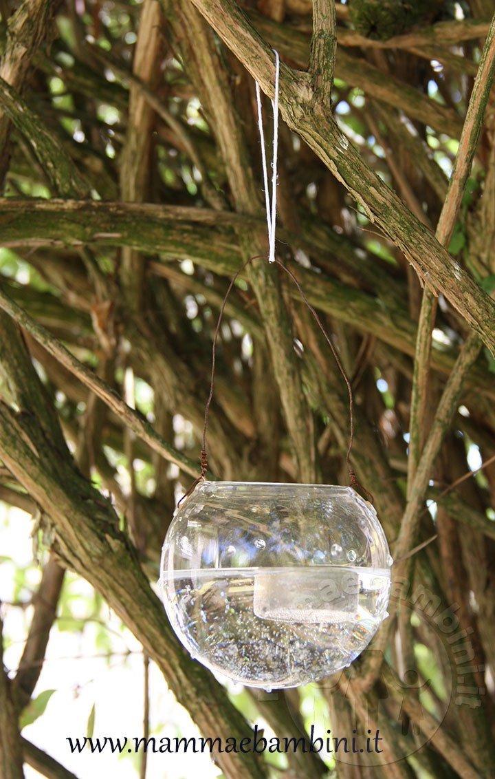 Decorazioni luminose con barattoli di vetro mamma e bambini - Decorazioni vetro ...