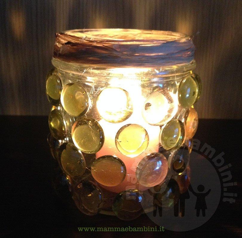 Vasi decorativi con sassi di vetro fai da te mamma e bambini - Vasi decorati fai da te ...
