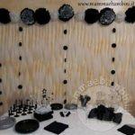 Idee decorazioni compleanno con strisce di carta
