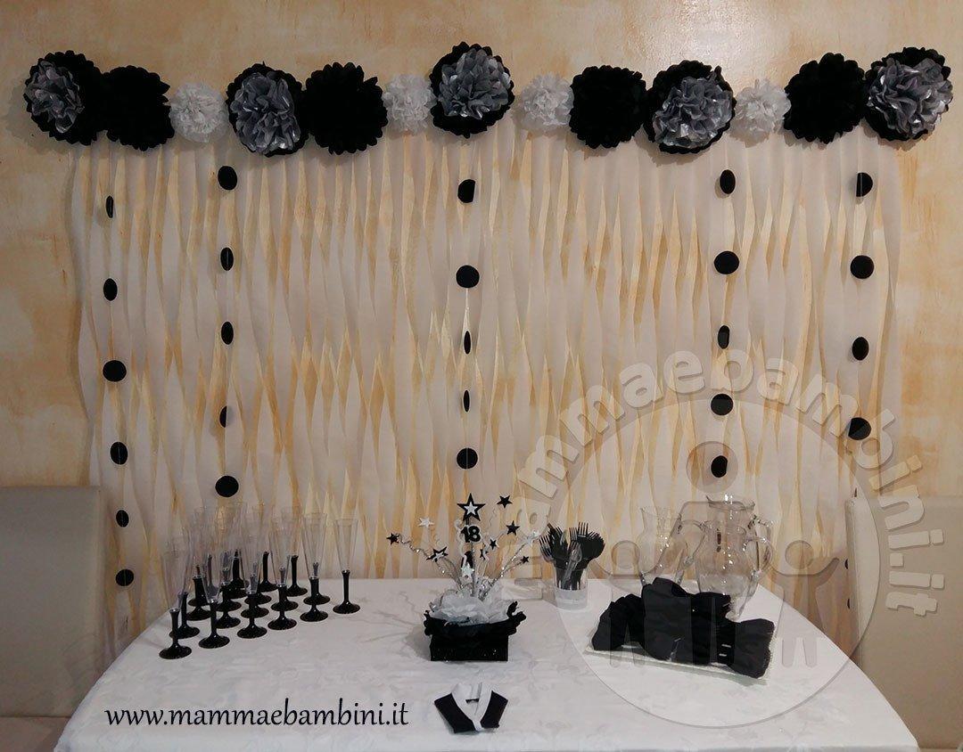 Idee decorazioni compleanno con strisce di carta mamma e bambini - Decorazioni per feste fai da te ...