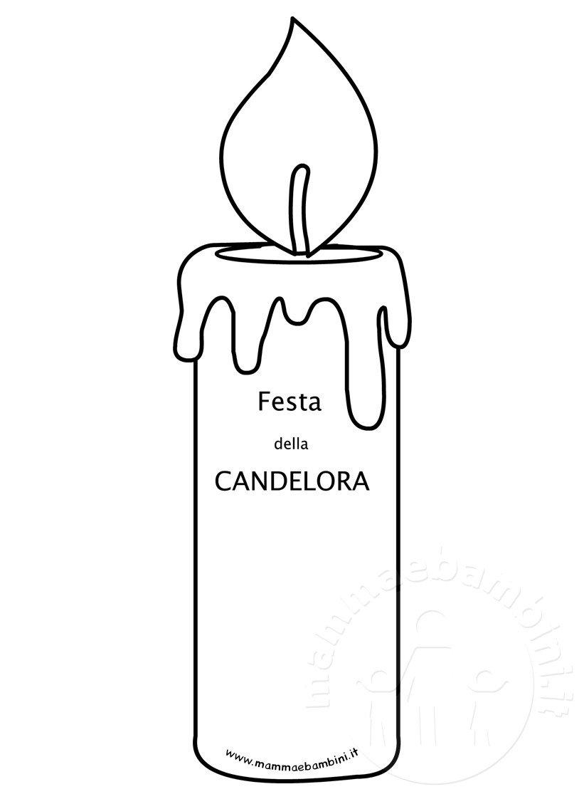 Festa della candelora disegno da stampare mamma e bambini for Lepre immagini da stampare