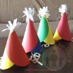 Tutorial cappellini di carta per feste