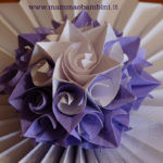 Video come realizzare fiore carta origami rosa