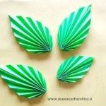 Come realizzare una foglia origami