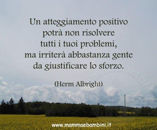 frase essere positivi