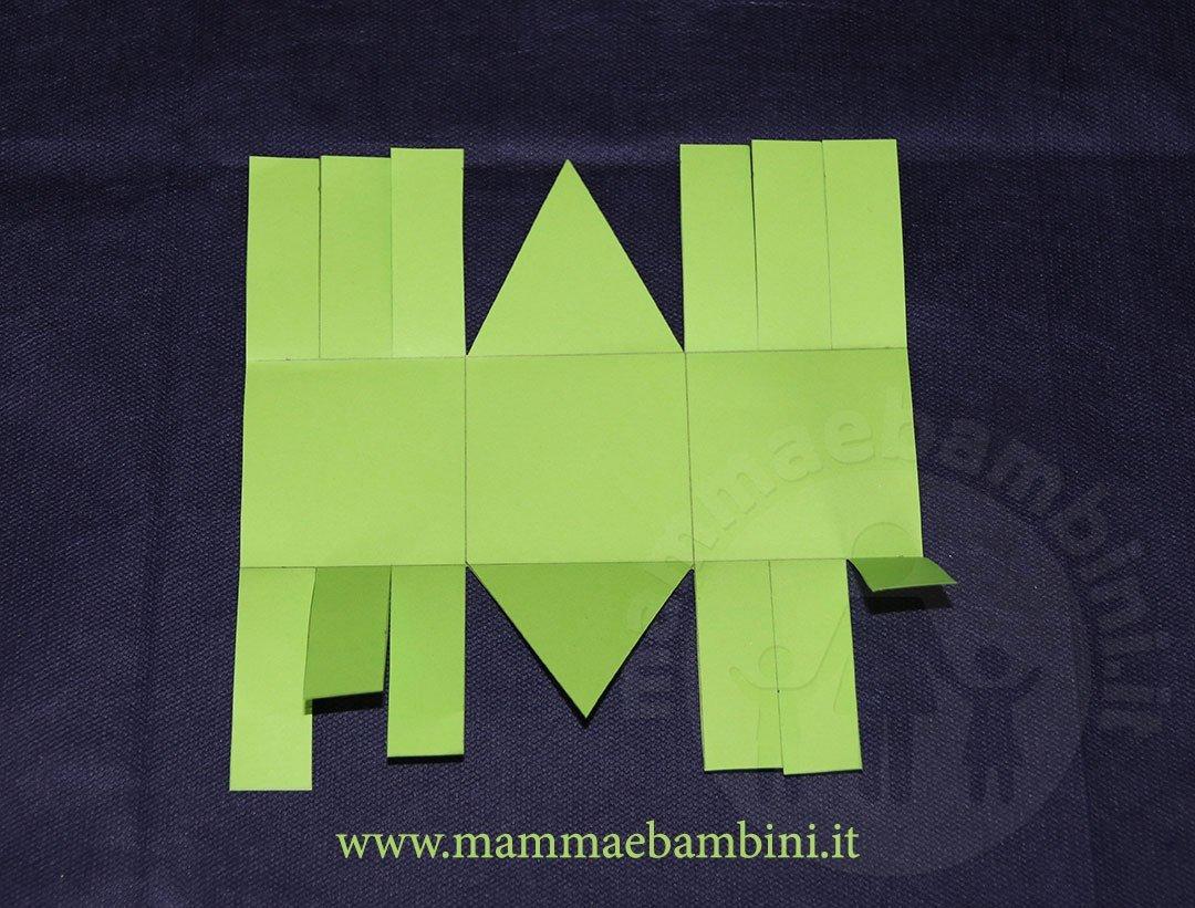 Fiocchi Di Neve Di Carta Facili : Tutorial cestini di carta facili u mamma e bambini