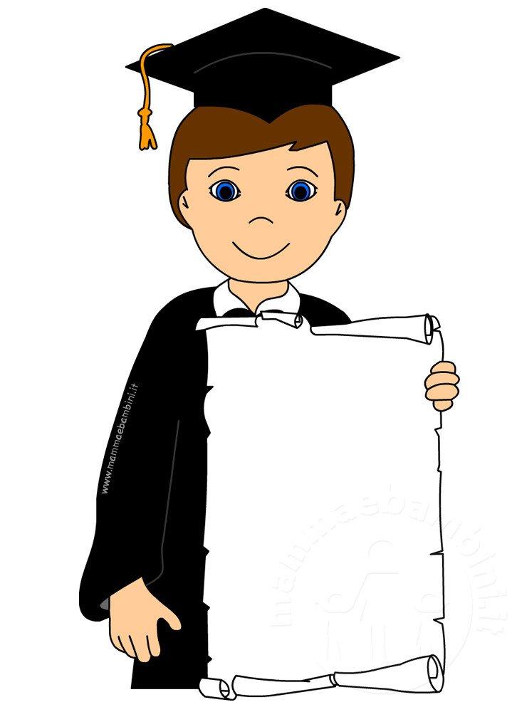 Disegno bambino con diploma da stampare e colorare mamma for Neonati da colorare e stampare