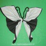 Tutorial farfalla con tovaglioli di carta