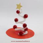 Idee alberelli di Natale con scovolini