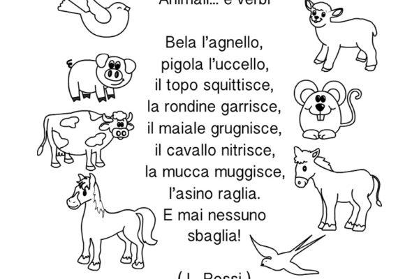 Risultati Della Ricerca Per Versi Degli Animali Mamma E Bambini