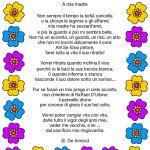 Poesia A mia madre di De Amicis