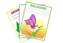 Copertina quaderno religione in arrivo