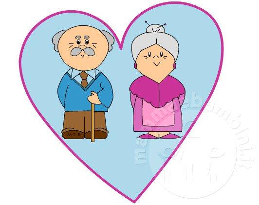 Auguri Matrimonio Dai Nonni : Festa dei nonni biglietto mamma e bambini