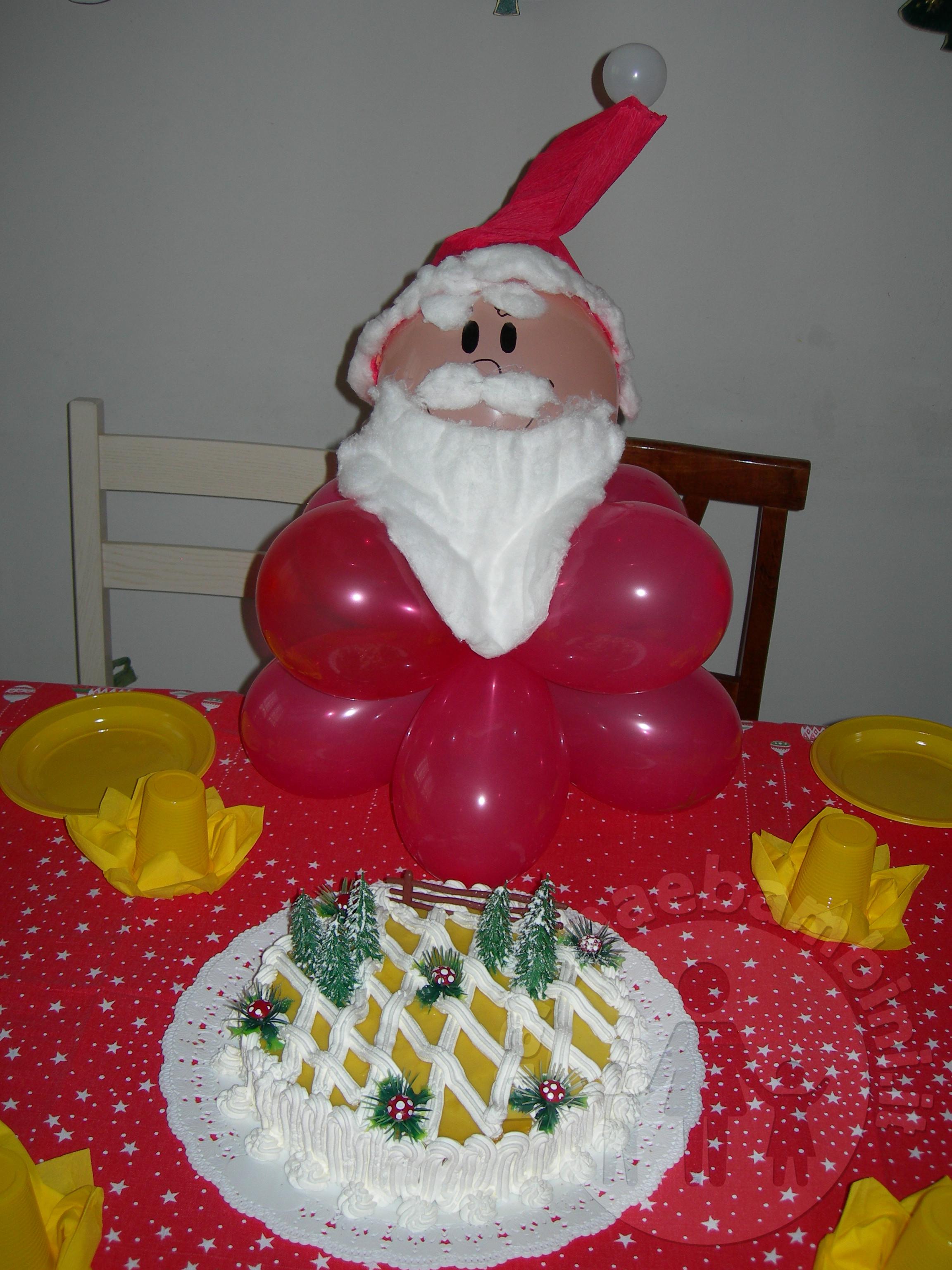 Feste compleanno nel periodo natalizio:Babbo Natale