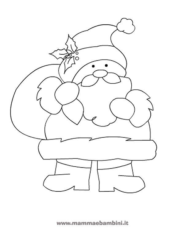 Natale i nostri disegni da colorare mamma e bambini for Disegni facili di natale