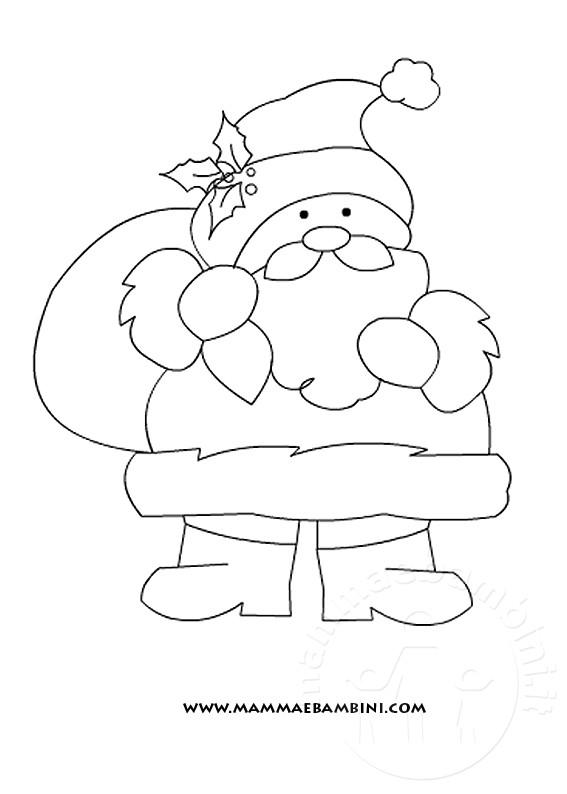 Bambini Babbo Natale Disegno.Natale Disegni Da Colorare Mamma E Bambini
