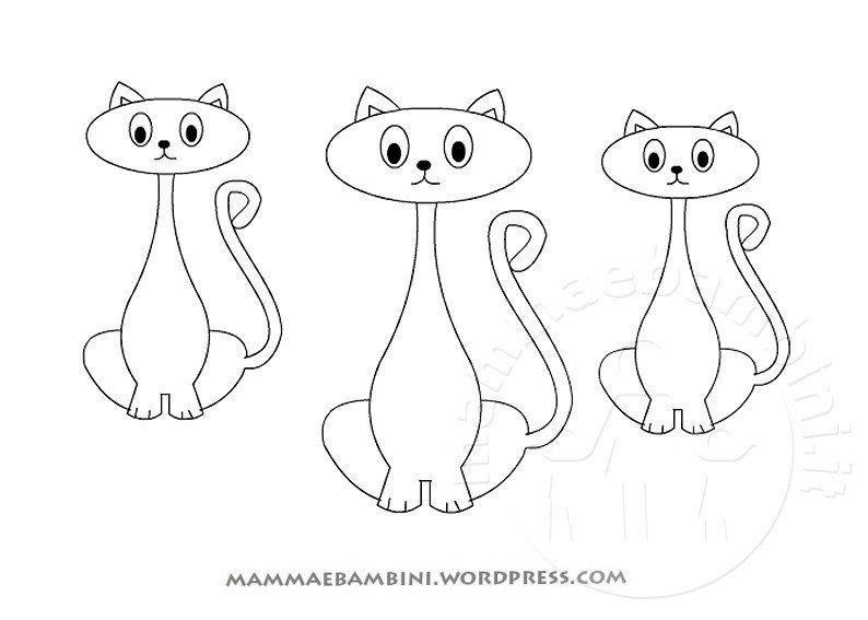 Halloween altri disegni da colorare mamma e bambini for Cani e gatti da stampare e colorare