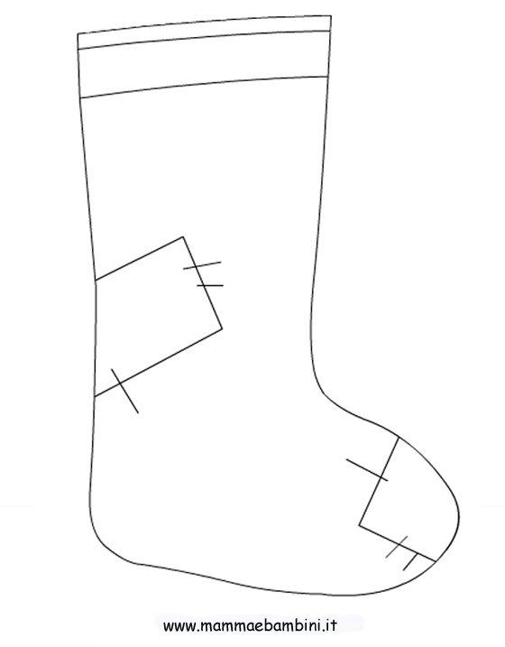 Disegni sulle calze per la festa della befana mamma e - Immagini dei denti da colorare ...