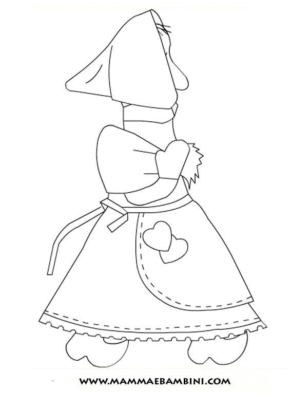 La befana coloring page murderthestout for La befana coloring page
