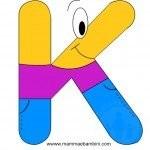Alfabetiere: lettera K