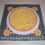 Ricetta: crostata con crema e pinoli