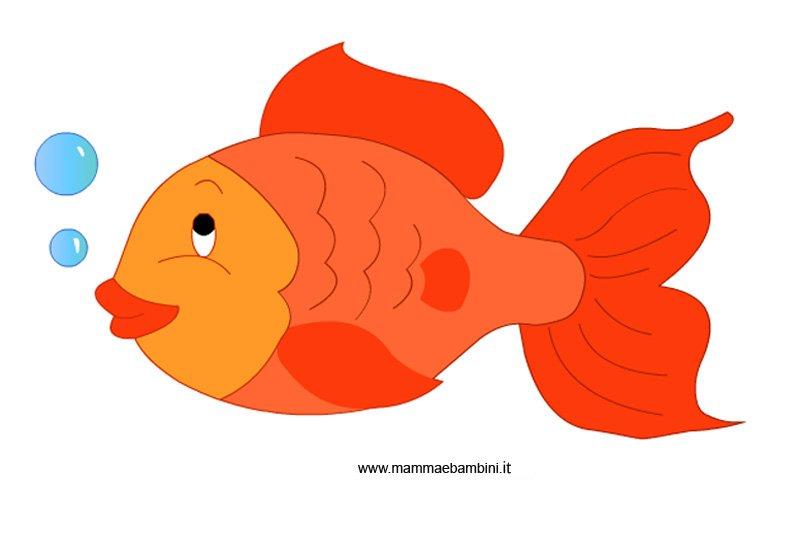 Pesce d aprile da stampare mamma e bambini for Pesciolini da colorare e stampare