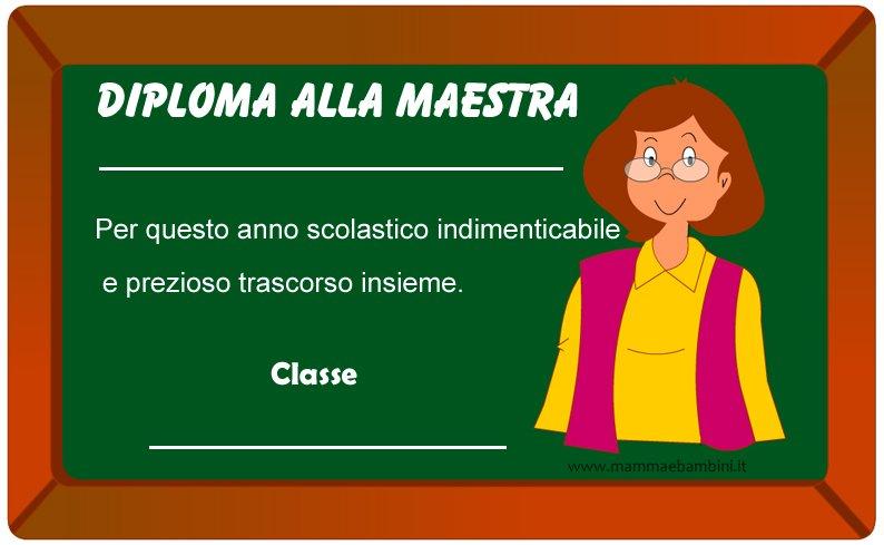 diploma maestra