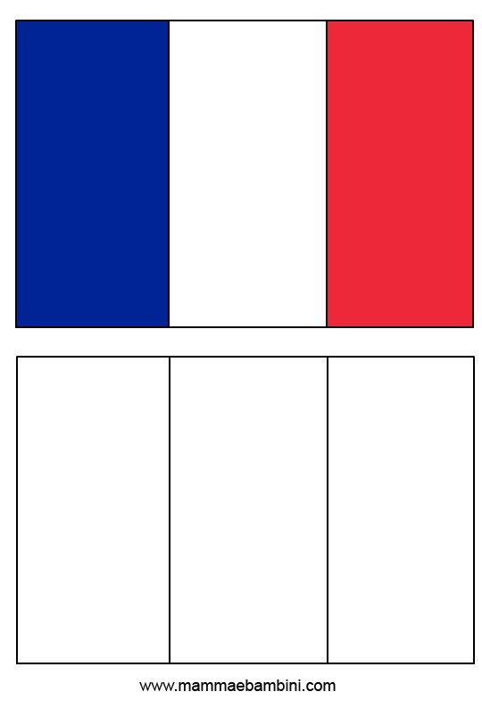 Le Bandiere Da Stampare E Colorare Argentina E Francia Mamma E