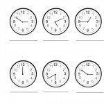 Leggere l'orologio: scheda da stampare