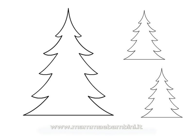 Disegni Di Natale Lavoretti.Natale Sagome Per Tanti Lavoretti Mamma E Bambini