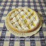Crostata con nutella e crema