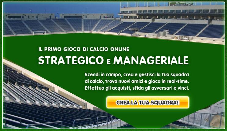 Vuoi provare il nuovo gioco del calcio online con GGOAL?
